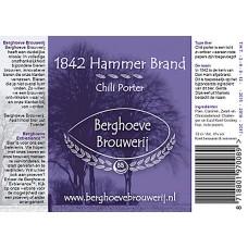 Berghoeve - 1842 Hammer Brand Chili Porter 20 liter