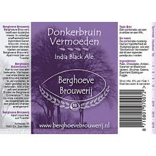 Berghoeve - Donkerbruin Vermoeden 20 liter