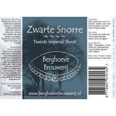 Berghoeve - Zwarte snorre Imperial stout BA 24*33cl