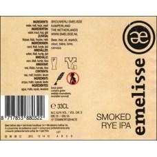 Emelisse - Smoked Rye IPA  12*33cl