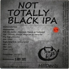 HillDevils - Not totally Black IPA 24*33