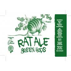 Hommeles - Rat Ale Green Hops  24*30