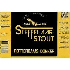 Steffelaar - Rotterdams Donker (stout) 24*33cl